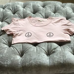 Truly Madly Deeply Urban Outfitters Peace SS T SM